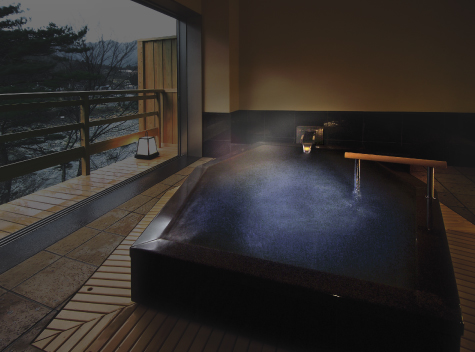 貸切風呂:六角石風呂 あいこ